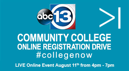 Community College online registration drive