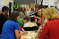 2013 Womens Conference sponsor booths