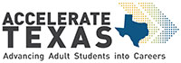 image of the Accelerate Texas Logo