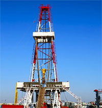 Image of a drilling site